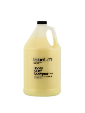 Label. M Honey & Oat Shampoo (Size : 126 oz)