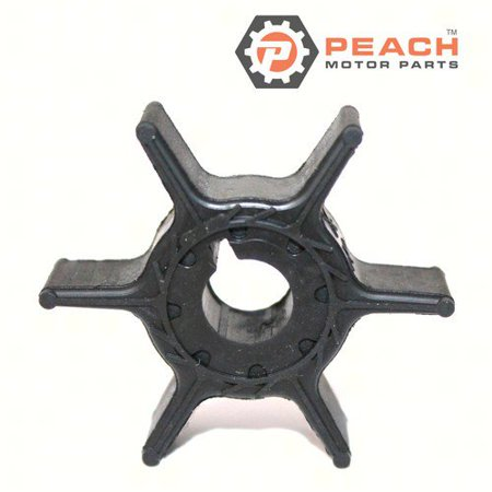 Peach Motor Parts PM-68T-44352-00-00  PM-68T-44352-00-00 Impeller, Water Pump (Neoprene); Replaces Yamaha®: 68T-44352-00-00, Sierra®: 18-8910, CEF®: 500368