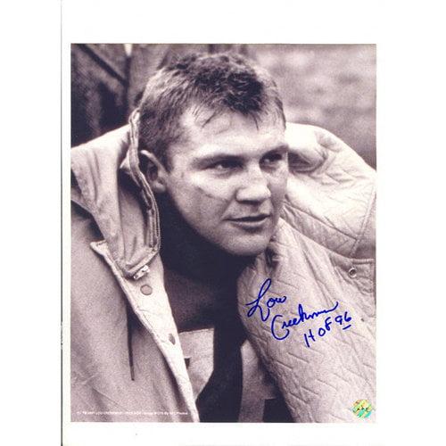 NFL - Lou Creekmur Detroit Lions Autographed 8x10 Photograph with HOF 96 Inscription