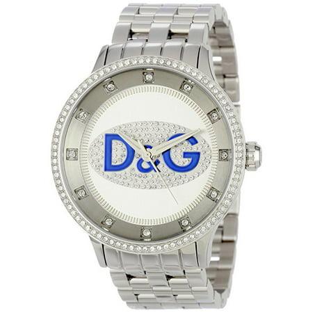 Dolce & Gabbana Men's DW0133 Prime Time Rectangle Watch TV Analog Backlight Case