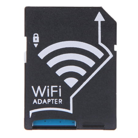 WiFi Wireless Micro SD TF Card to SD Card Adapter for IOS Android Smartphone Tablet SLR Sony Canon Nikon