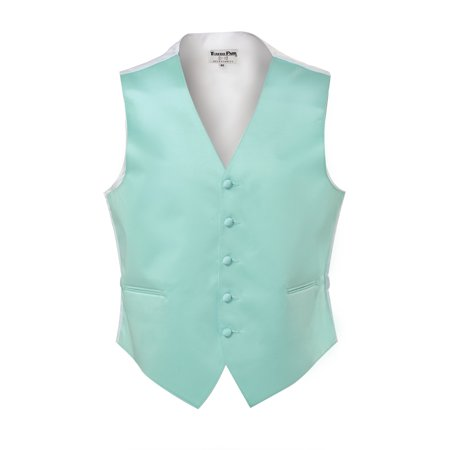 Robins Egg Blue Satin Fullback Vest