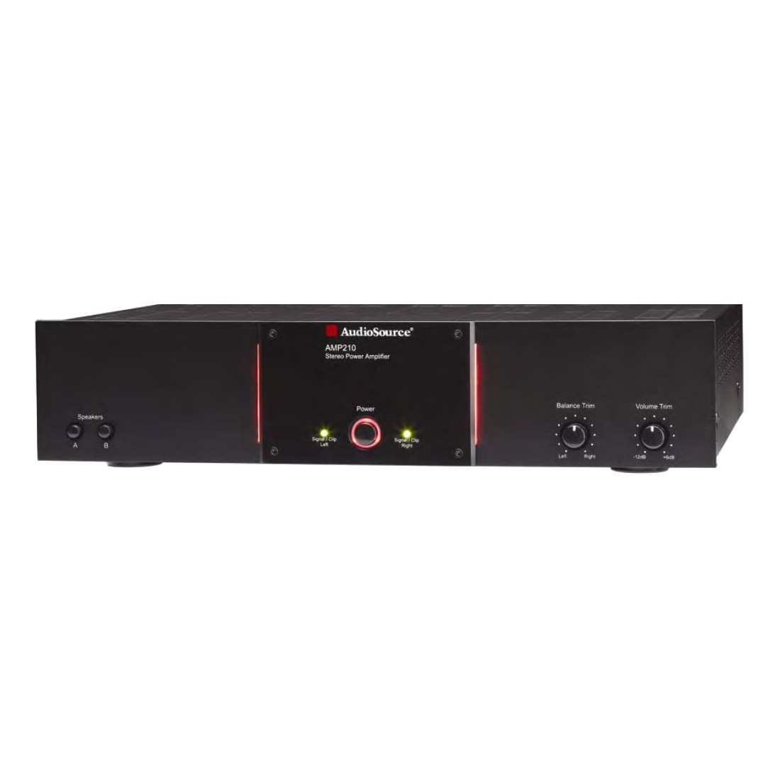AudioSource AMP210VS 2-Channel Power Amplifier with 100 Watts Per Channel by AudioSource