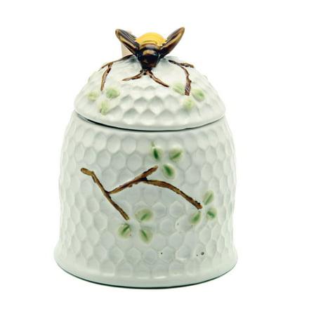 DEI Stoneware Bee Single Condiment Jar