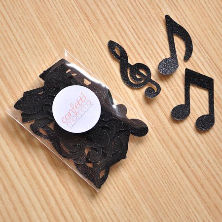 Music Party Decorations. Ships in 1-3 Business Days. Music Notes for Table Confetti 25CT. - Music Note Decorations