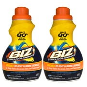 (2 Pack) Biz Stain & Odor Eliminator Liquid, 50 fl oz