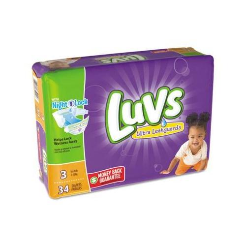 Diapers Size 3: 16 to 28 lbs PAG85924