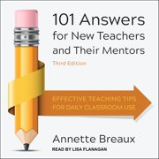 101 Answers for New Teachers and Their Mentors - Audiobook