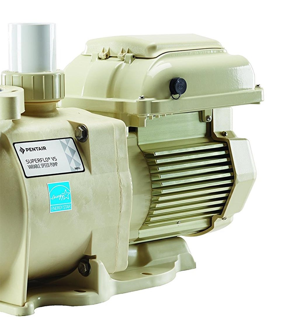 Pentair Superflo 1 5 HP 115/208-230 Volt Variable Speed VS Pool Pump |  342001