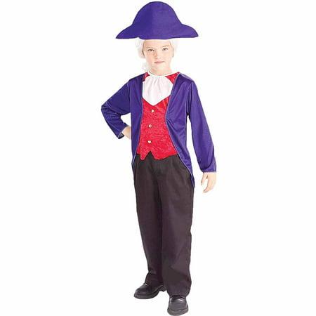 George Washington Child Halloween Costume
