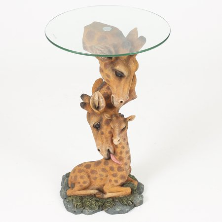 (Giraffe Family Accent Table)