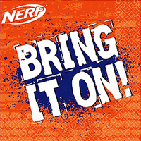 Nerf Lunch Napkins (16ct)