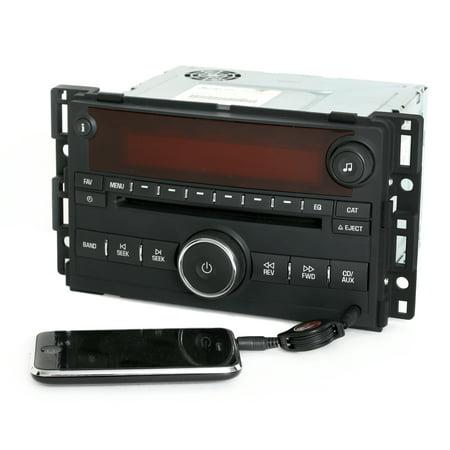 - 2006-07 Saturn Vue & Ion AM FM mp3 CD Player Radio w Aux iPod Input US8 15878975 - Refurbished