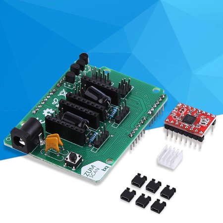 Ejoyous 3D Printer Kit Scanner Expansion Board with A4988 Driver DIY Accessories, 3D Printer Board, 3D Printer Kit - Network Scanner Expansion Kit