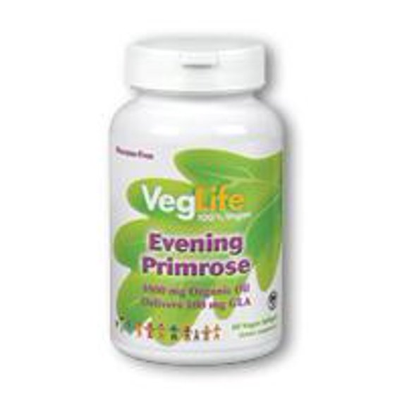 15b33ebb020b Organic Evening Primrose Oil VegLife 60 Veg Softgel - Walmart.com