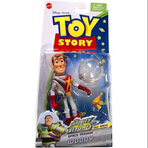 Toy Story To Infinity and Beyond Space Mission Woody Action Figure by Mattel