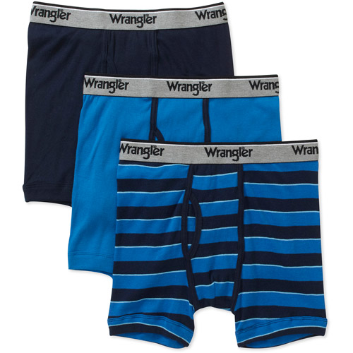 Wrangler Men's Boxer Brief 3 Pack