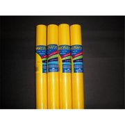 RiteCo Raydiant 80013 Riteco Raydiant Fade Resistant Art Rolls Canary Yellow 48 In. X 12 Ft. 4 Pack