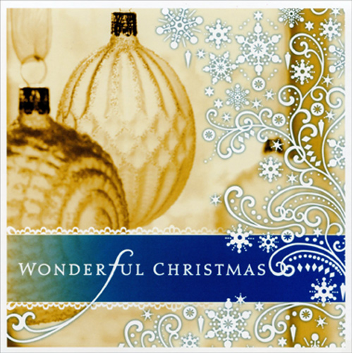 Image Arts Elegant Ornaments Box of 16 Christmas Cards