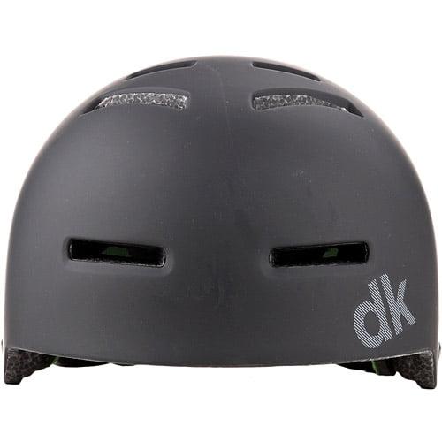 DK Synth Black BMX/Skating Helmet