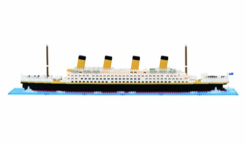 Nanoblock Level 5, Titanic, 1800 Pieces by Ohio Art