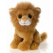 "9"" Sitting Lion with Big Eyes Plush Stuffed Animal Toy by Fiesta Toys"