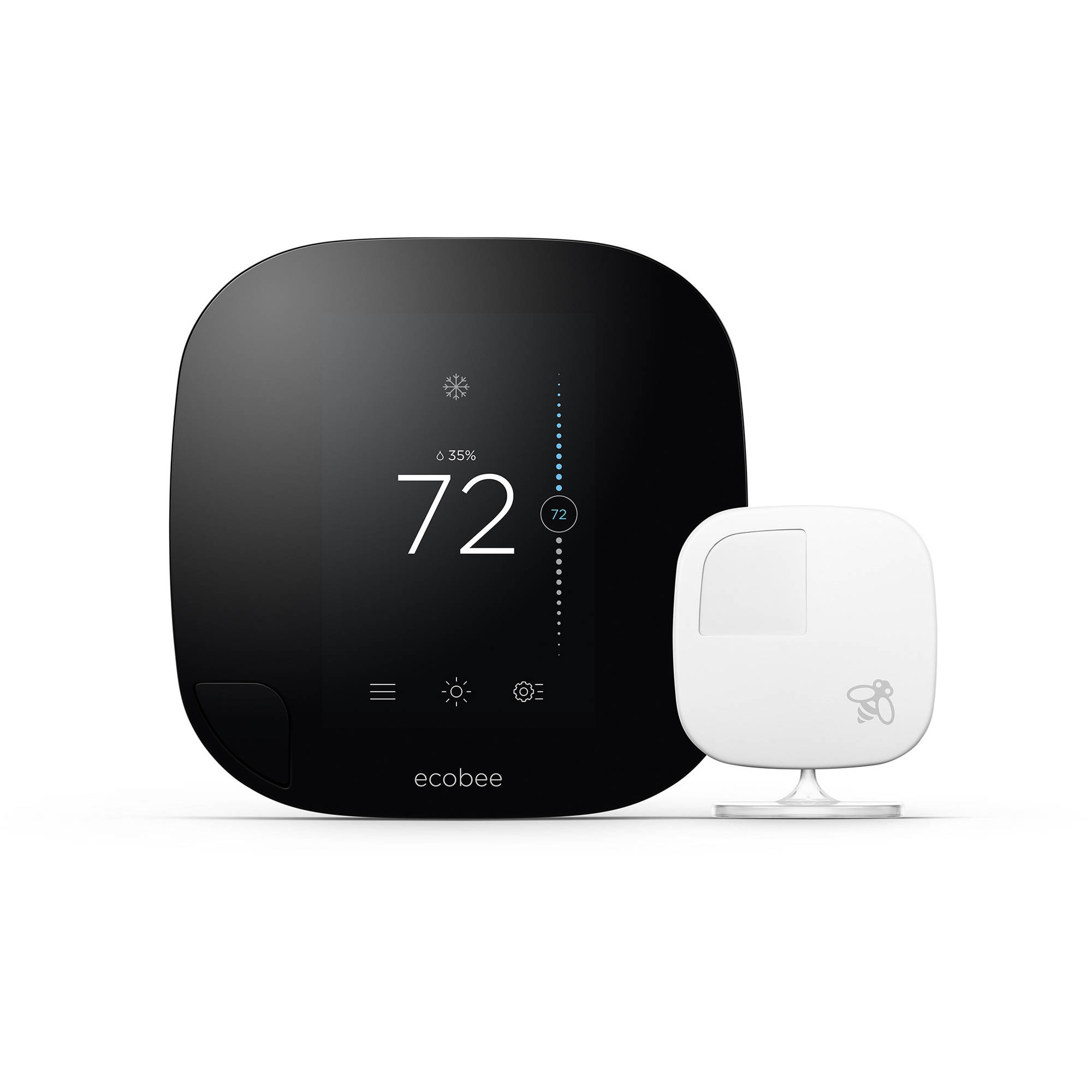 Ecobee3 Smart Thermostat Room Sensors No Hub Required
