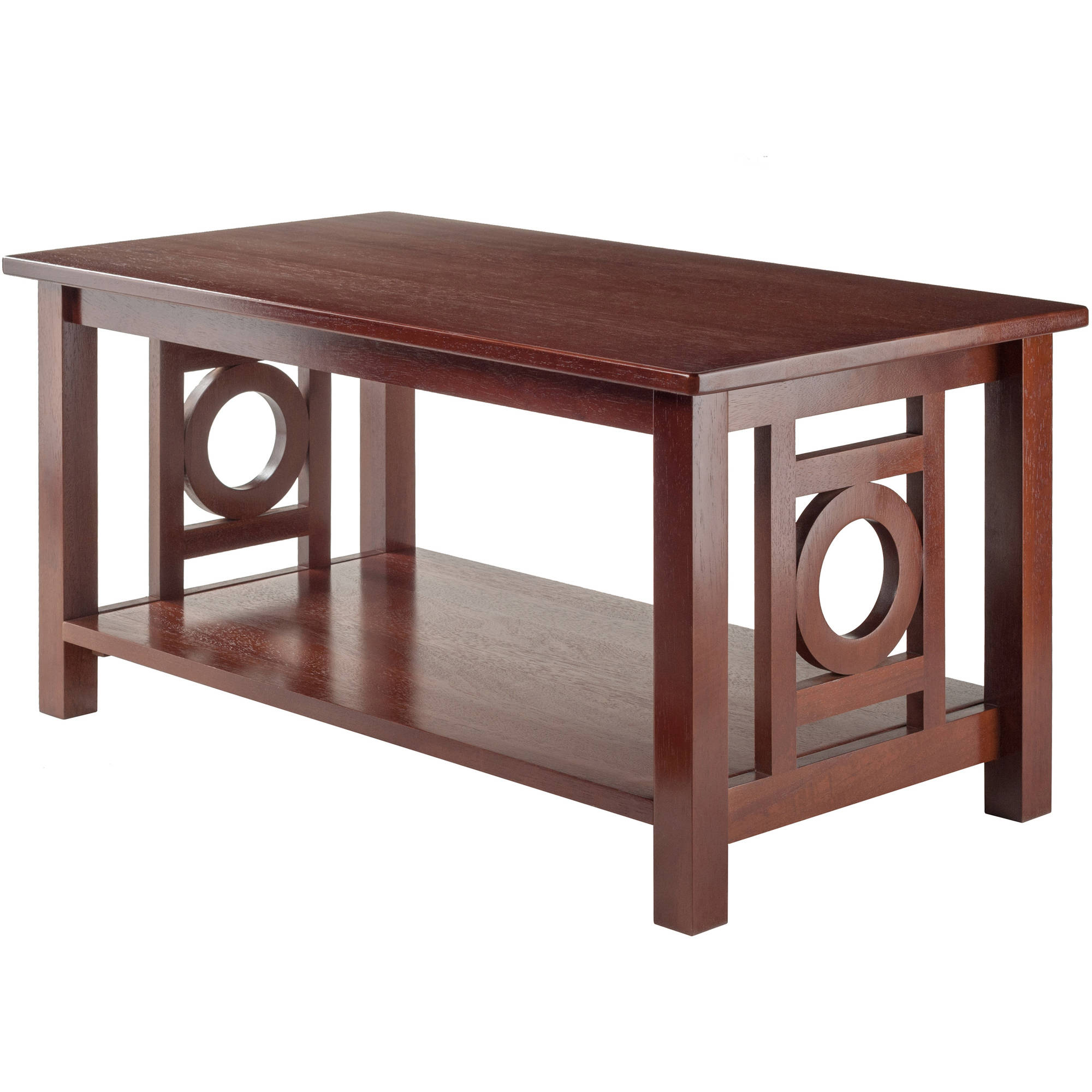 Walmart Coffee Tables: Winsome Wood Ollie Coffee Table, Walnut Finish