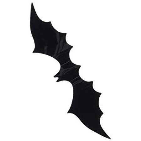 YINGKAI DIY Halloween Party 15pcs/pack Black PVC 3D Decorative Bats Butterfly Wall Decal Wall Sticker, Halloween Eve Decor Home Window Decoration (Halloween Decorations Wall Coverings)