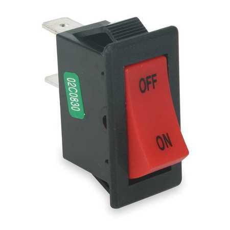 Power First 2VLL9 Red Rocker Switch