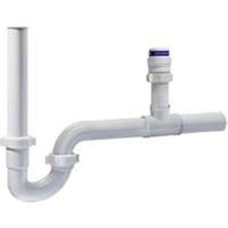 Plumb Pak VNTKTPTRPPVC Air Admittance Kit With Trap, For Use With Plumbing Ventilation, PVC, - Bottle Trap Plumbing