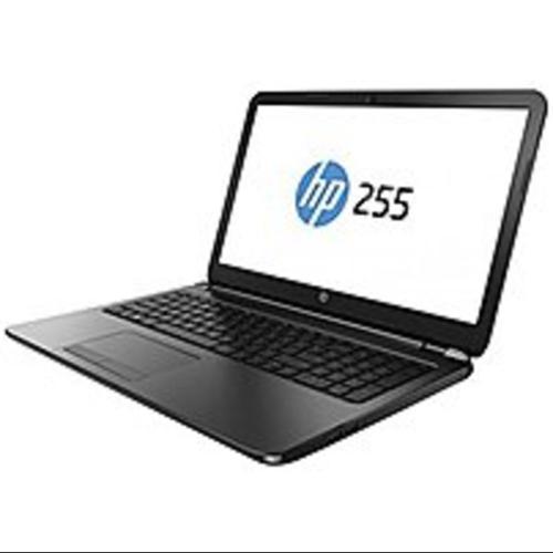 HP 255 G3 G4V04UT Notebook PC - AMD E-Series E1-6010 1.35 GHz Dual-Core Processor - 4 GB Memory - 500 GB Hard Drive - 15.6-inch Display - Windows 8.1 64-bit Edition - Black Licorice