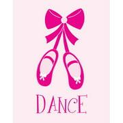 Secretly Designed Dance with Ballet Shoes Paper Print