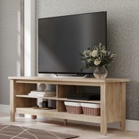 Deals on Wampat Farmhouse TV Stand for 65 inch Flat Screen