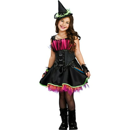 Rockin' Out Witch Child Halloween Costume - Quick Easy To Make Halloween Costumes