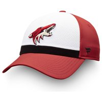 Arizona Coyotes Fanatics Branded Breakaway Current Jersey Flex Hat - White/Garnet