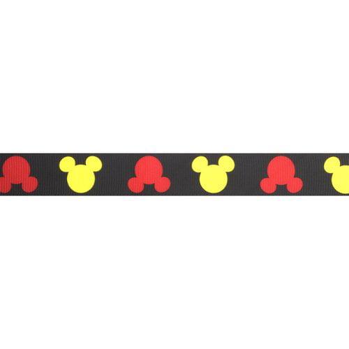 "Disney Mickey Mouse Ear Ribbon, 1"""