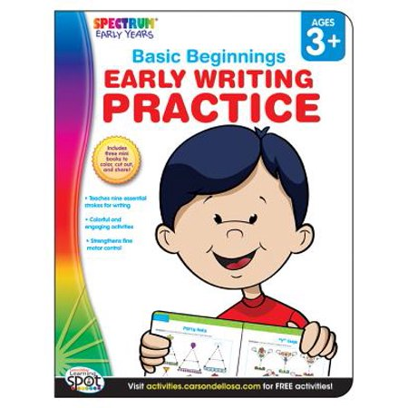 Early Writing Practice, Ages 3 -