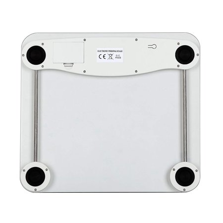 DR. HEALTH 400 lbs Digital Bathroom Scale Measures Weight. Bath Scale, Step-on Activation - image 2 of 3