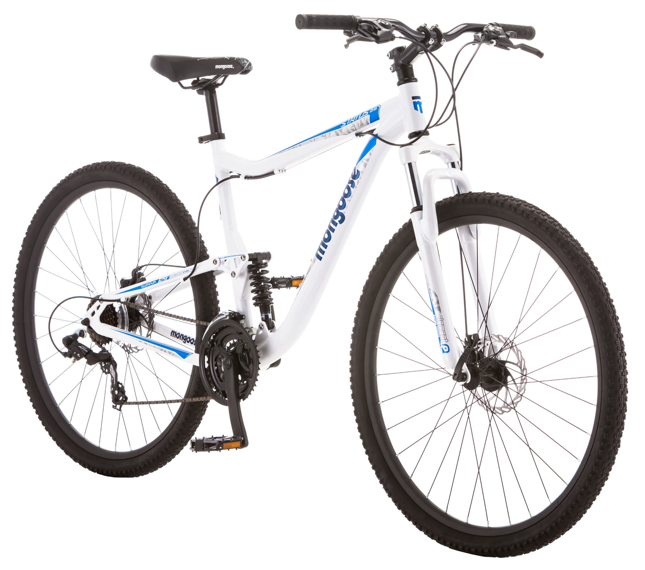 "29"" Mongoose Status 2.6 Men's Mountain Bike, White by Pacific Cycle"