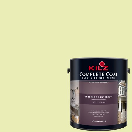 KILZ COMPLETE COAT Interior/Exterior Paint & Primer in One #LF240-01 Mini Green
