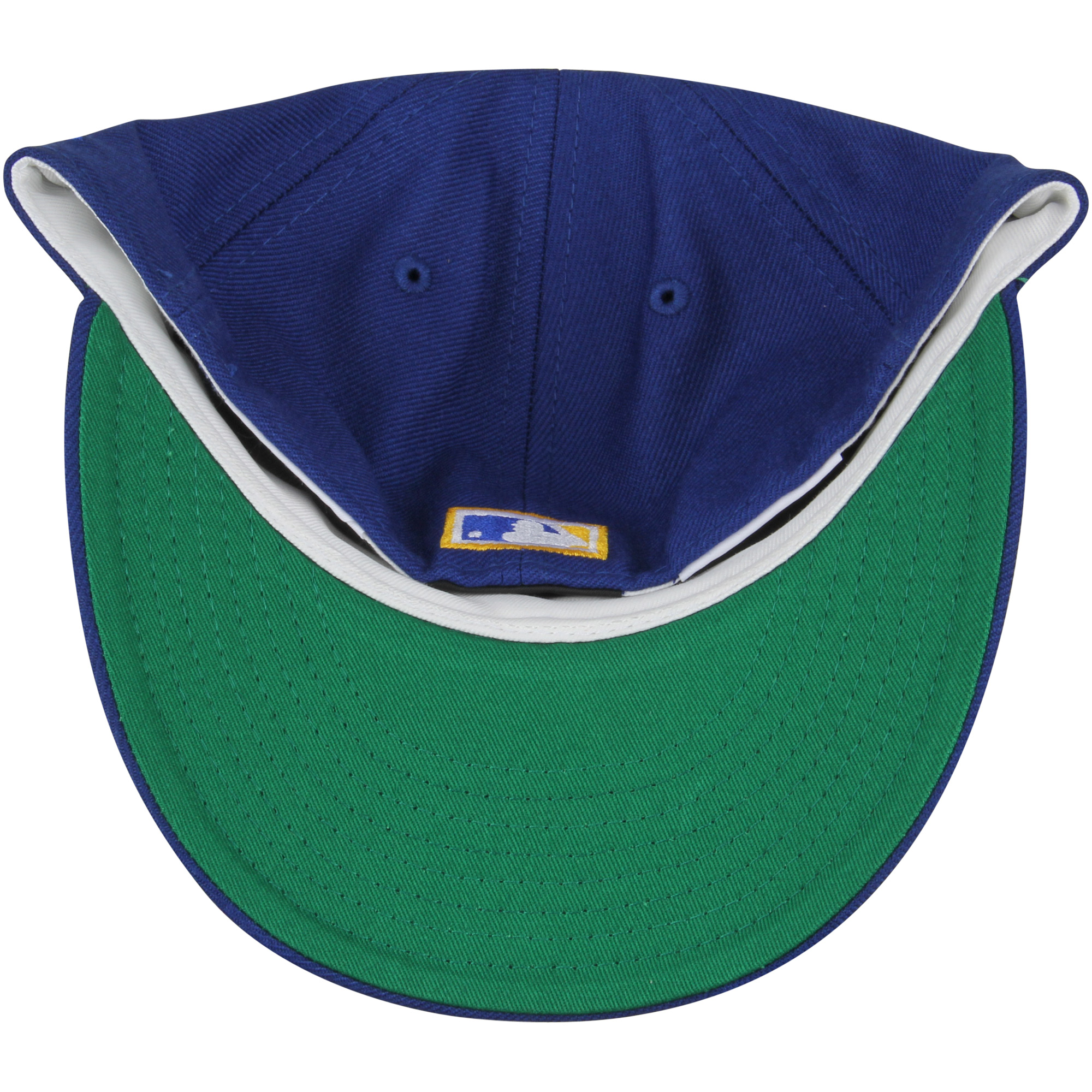 new styles f19c2 ea66b Seattle Mariners New Era Cooperstown Collection Vintage Fit 59FIFTY Fitted  Hat - Royal - Walmart.com