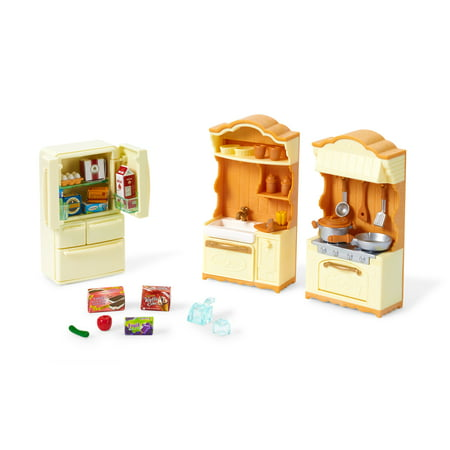 Calico Critters Kitchen Play - Calico Critters Kitchen Set