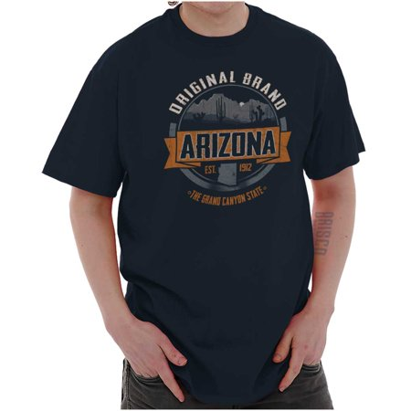 Brisco Brands Classic Arizona Souvenir Desert Short Sleeve Adult T-Shirt (Desert Classic)