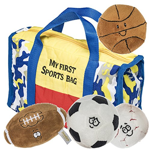 Prextex Baseball, Soccer Ball and Foot Ball Great Toy for Kids