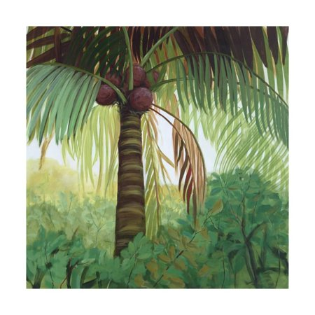 Tropic Palm Camel (Tropic Palm I Print Wall Art By Julie Joy )