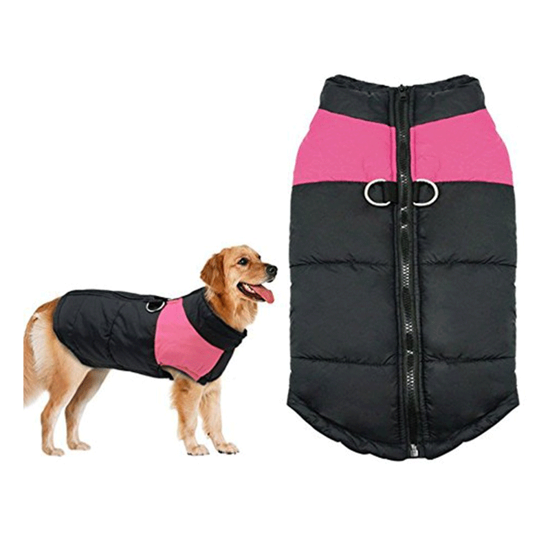Pet Winter Warm Clothes Gits for Small / Medium / Large Dogs, Cold Weather Warm Vest Jacket Coats for Dogs, Windproof Warm Pet Coats for Winter, (S-5XL)