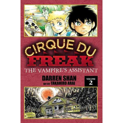 Cirque Du Freak the Manga 2: The Vampire's Assistant