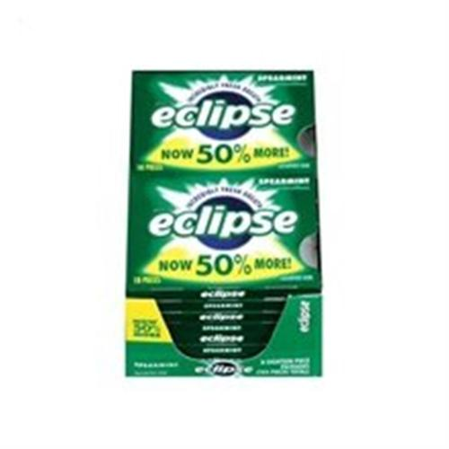 Eclipse  Sugar Free Gum Spearmint 8 packs (18 ct per pack) (Pack of 4)