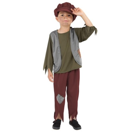 Child Victorian Poor Boy Costume (Victorian Costumes)